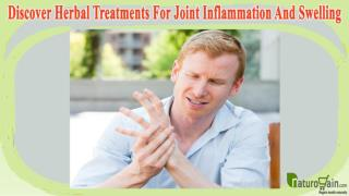 Discover Herbal Treatments For Joint Inflammation And Swelling