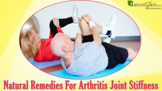 Natural Remedies For Arthritis Joint Stiffness That Really Work