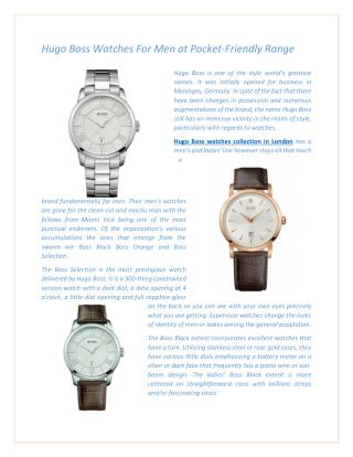 How to Take a Decision about Buying a Luxury Watch through Online Shopping