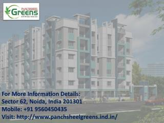 Panchsheel Greens only 24 L at Noida Extension Call   91-9560450435