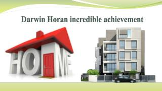 Darwin Horan Incredible Achievement