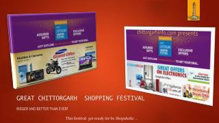 Chittorgarh online shopping festival 2015