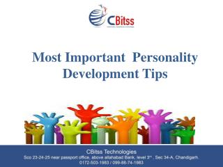 Most Important  Personality Development Tips