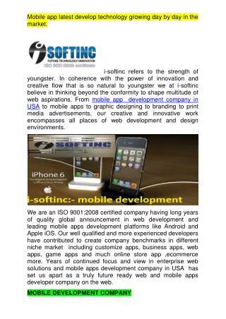 Mobile apps development company victoria,canada,