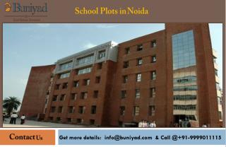 School Plots in Noida at Best Price