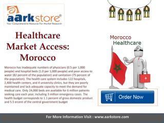 Aarkstore   Healthcare Market Access Morocco