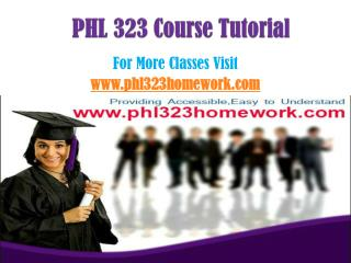 PHL 323 Homework Peer Educator/phl323homeworkdotcom