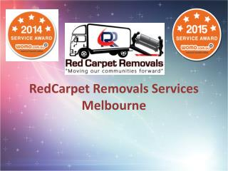 Removals Services in Melbourne