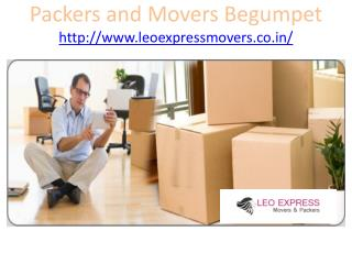 Movers and Packers Begumpet
