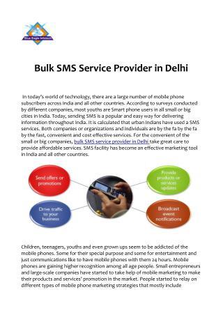 Relay on Bulk SMS Service Provider in Delhi