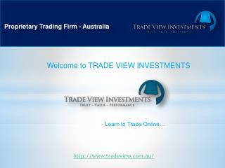 Proprietary Trading