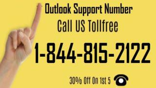 Microsoft Outlook Help 1-844-815-2122 Phone Number