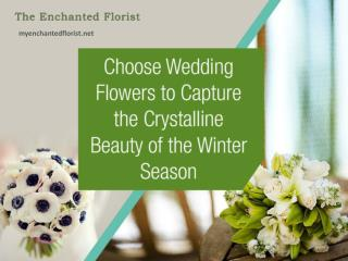 Wedding Flowers Online to Decorate a Winter Celebration