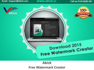 AKick - Free Photo Watermark Software | Photo Software