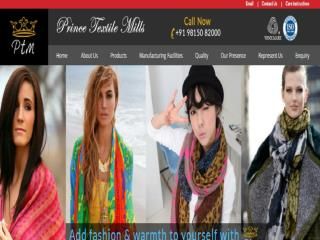 Check Shawls Manufacturers in India