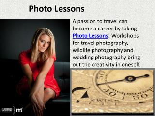 Photo Lessons, Photography Programs, Photography Career