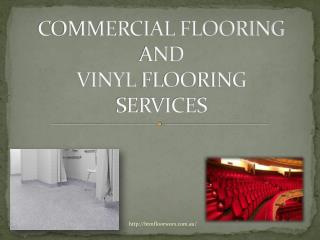 commecial flooring and vinyl flooring