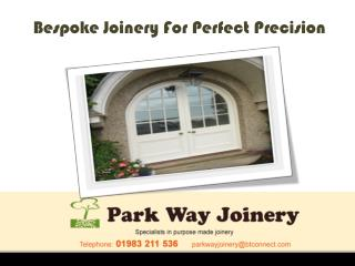 Exclusive Bespoke Joinery in Isle Of Wight