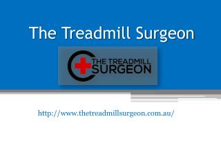 Treadmill Service and Motor Repair Adelaide - www.thetreadmillsurgeon.com.au