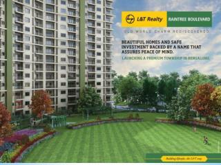 Pre launch L&T Raintree Boulevard Bangalore