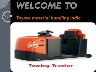 Material Handling Equipment Manufacturers India