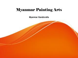 Myanmar painting arts