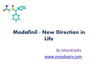 Modafinil UK 200mg Direction in Life