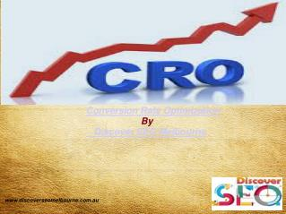 Conversion rate optimisation | Discover SEO Melbourne