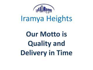 Smart City Delhi Apartment in L Zone- iramya.com