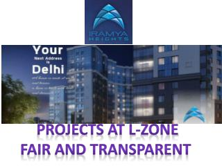 Dwarka LZone|Apartment in L Zone- iramya.com