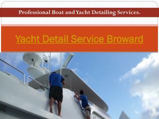 Yacht Detail Service Broward