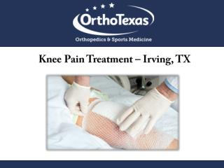 Knee Pain Treatment – Irving, TX