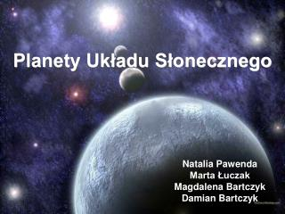 Planety Ukladu Slonecznego