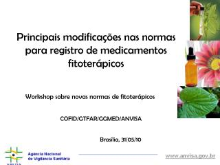 Workshop sobre novas normas de fitoter picos
