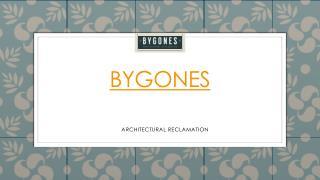 PPT for Bygones