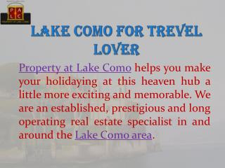 Villa for Sale at Lake Como - Property at Lake Como