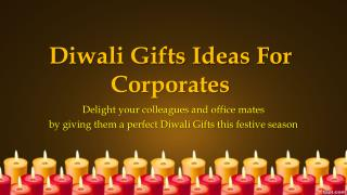 Buy Diwali Corporate Gifts Online at Best Price