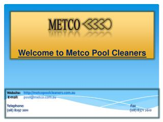 Metco Pool Cleaners