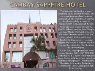 Hotel Cambay Sapphire