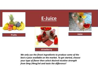 Premium E-Juices | Vapor E Cig Liquid