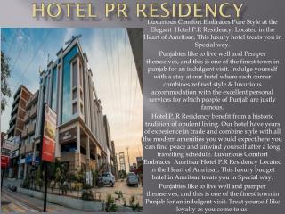 Hotel P R Residency