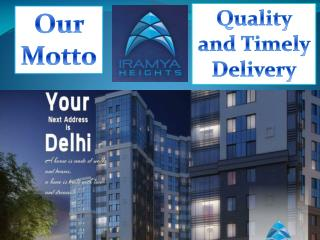Dwarka L Zone|3BHK in L Zone- iramya.com