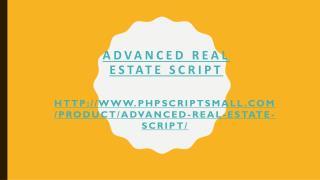 Realestate Website Software