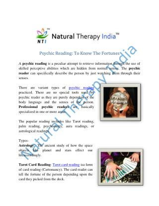Psychic Reading in India | Best Psychic Reader