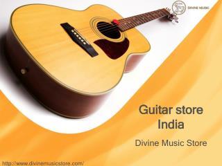 guitar store india