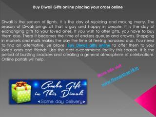 Buy Diwali Gifts Online | Send Diwali Gifts to India