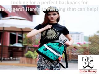 Looking for a perfect backpack for teenagers? Here's something that can help!