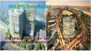 One Bkc in Kurla Mumbai, Property in Kurla Mumbai