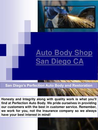 Auto Body San Diego