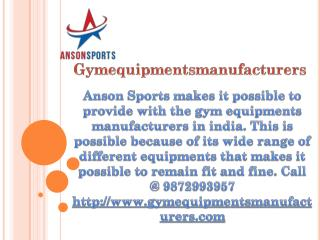 Take perfect choice for best home fitness equipments in India